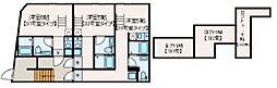 マレーア高円寺 3階1Kの間取り