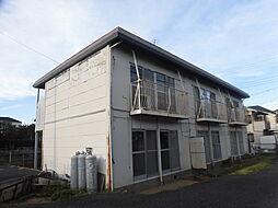 千葉県松戸市三矢小台5丁目の賃貸アパートの外観