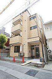 神奈川県川崎市幸区中幸町4丁目の賃貸アパートの外観