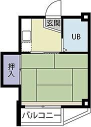 平尾第一ビル[201号室]の間取り