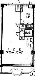 スワンマンション空港南[207号室]の間取り