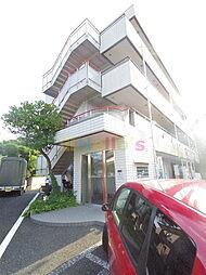 東京都日野市三沢3丁目の賃貸マンションの外観