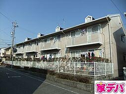 愛知県みよし市東山台の賃貸アパートの外観