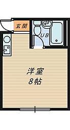 三国ヶ丘MTハイツ[3階]の間取り