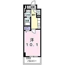 レイラニ130プラッツ[4階]の間取り