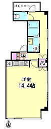 コノコ第3ビル[302号室]の間取り