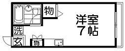 シティハイムJUN[2階]の間取り
