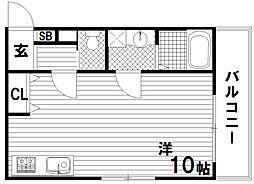 ワコーレヴィアーノ須磨関守町2丁目[2階]の間取り