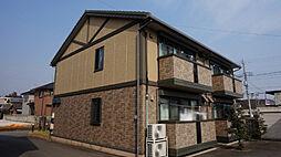 栃木県小山市城東6の賃貸アパートの外観