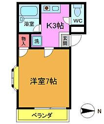 BCハウス[1階]の間取り