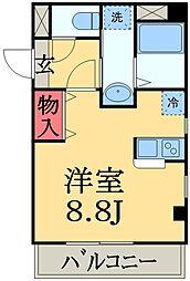 ラ・カッシーナ幕張[2階]の間取り