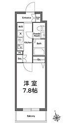 エルスタンザ浅草[5階]の間取り