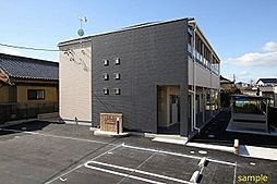 長野県松本市元町1丁目の賃貸アパートの外観