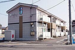 愛知県知立市牛田町コネハサマの賃貸アパートの外観