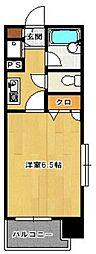 ロマネスク西新第5[13階]の間取り