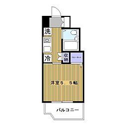 日神パレステージ石川町[501号室]の間取り