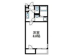 神奈川県海老名市今里2丁目の賃貸アパートの間取り