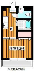 エースコーポ[2階]の間取り