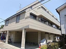 埼玉県所沢市宮本町2丁目の賃貸アパートの外観