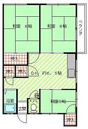 [一戸建] 福岡県福岡市中央区港2丁目 の賃貸【/】の間取り