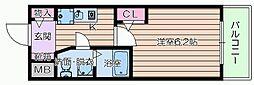 エスリード京橋III番館[2階]の間取り