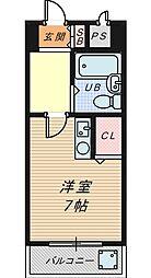 ラ・メゾンデ堺[2階]の間取り