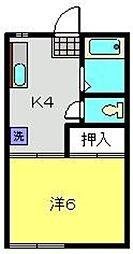コナテラス[1階]の間取り