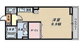 フローラ・香ヶ丘[2階]の間取り