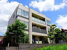 茨城県筑西市中舘の賃貸マンションの外観