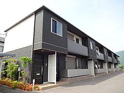 滋賀県近江八幡市安土町上豊浦の賃貸アパートの外観