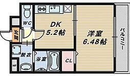 ロイヤルハイツ清鳳[1階]の間取り