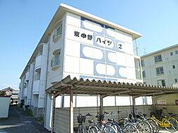 滋賀県東近江市東中野町の賃貸マンションの外観