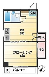 メゾンSA[3階]の間取り