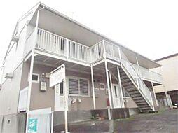 東京都多摩市連光寺6の賃貸アパートの外観