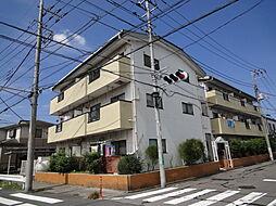 埼玉県八潮市中央3丁目の賃貸マンションの外観