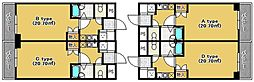 ホワイトハウス室見[4階]の間取り
