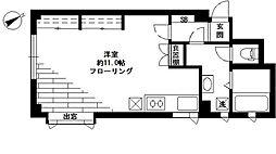 シーダース[2階]の間取り