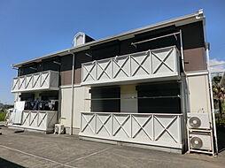 千葉県市原市村上の賃貸アパートの外観