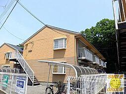 千葉県市川市国府台4の賃貸アパートの外観