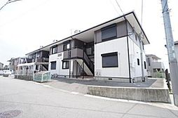 兵庫県宝塚市中筋4丁目の賃貸アパートの外観