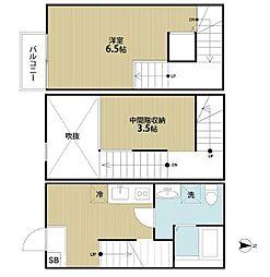 Calmato(カルマート)[1階]の間取り