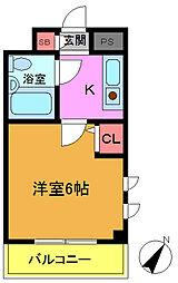 ローズガーデンA78番館[3階]の間取り