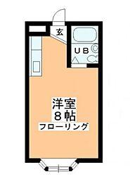 チェリム霞ヶ関[2階]の間取り