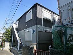 東京都江戸川区西小岩1の賃貸アパートの外観