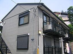 千葉県市川市若宮1丁目の賃貸アパートの外観