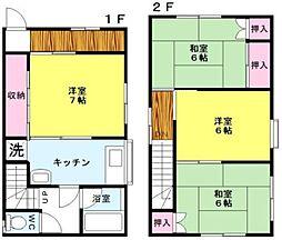 [一戸建] 福岡県福岡市早良区野芥3丁目 の賃貸【/】の間取り