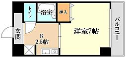 サンタウン竹鼻A棟[2階]の間取り
