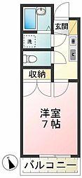 ロジェ高井戸 弐番館[1階]の間取り