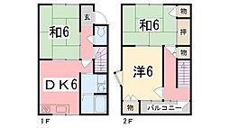 金川マンション[5号室]の間取り