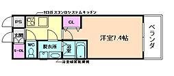 サムティ福島VIVENTE[2階]の間取り